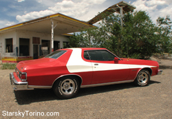 Our Limited Edition Starsky & Hutch Torino, built by Ford to look like Starsky's car on the TV Show!